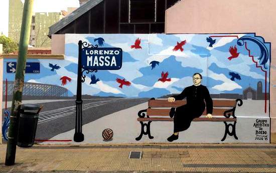La Calle Padre Lorenzo Massa Ex La Garza En Boedo Tiene Su Mural