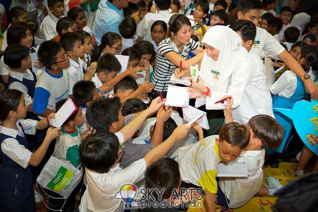 Oh My English Season Musim 2 OME Sekolah Wawasan Press Conference Aaron Aziz Lisa Surihani Zain Saidin Adibah Noor