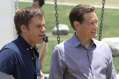 James Remar (right) as 'Harry Morgan' on DEXTER by Join SHOWTIME © All rights reserved.