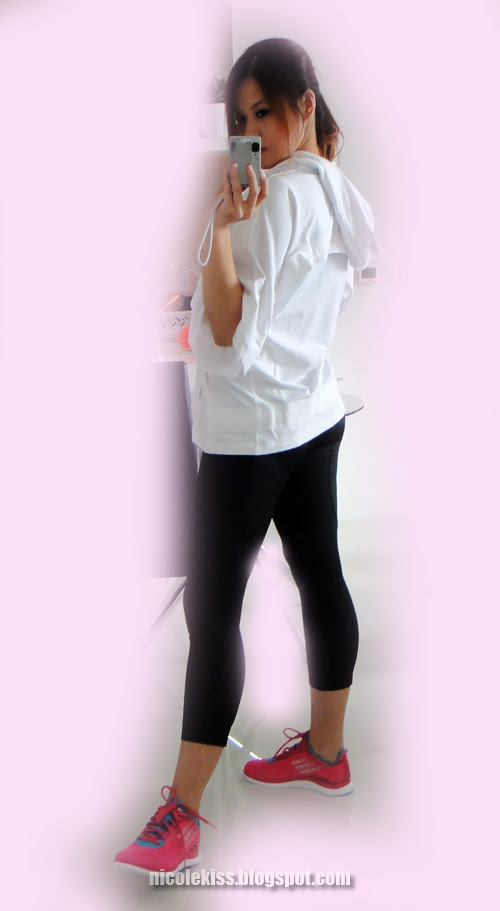 perfet set with pink shoes