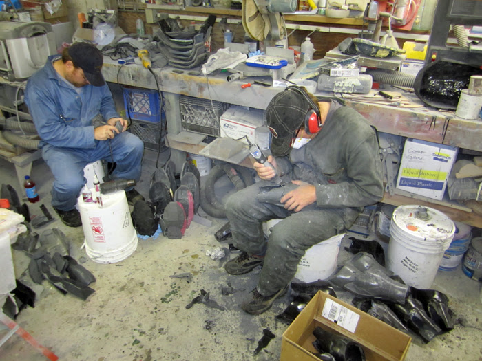 Matt and Chris Prepping Parts