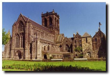 Paisley Abbey image copyrighted by Rampant Scotland
