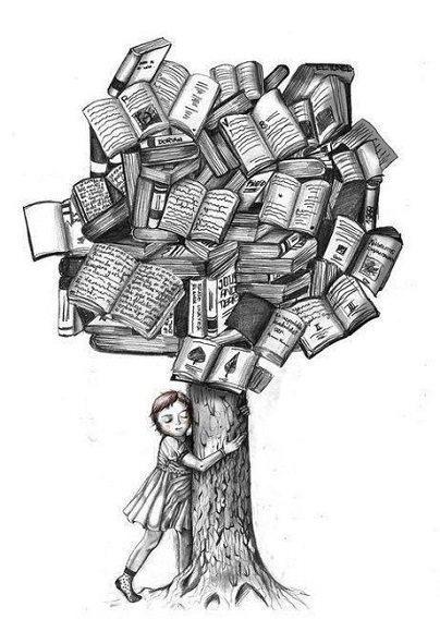 Resultado de imagen de abrazar libros