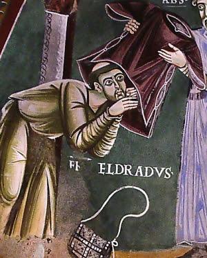 IMG ST. HELDRAD (Eldrad)  Abbot of monastery of Novalese