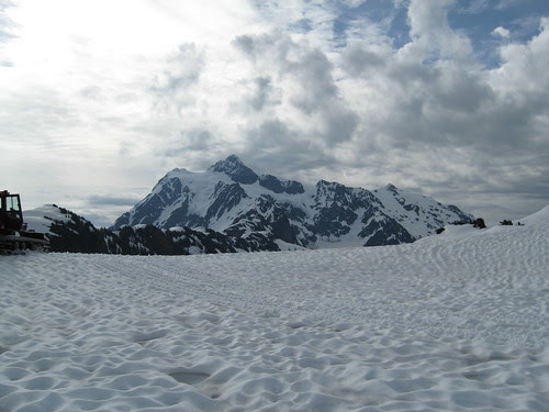 View of Mt Shuksan from Artist Point