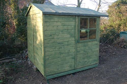 allotment shed Feb 13 3