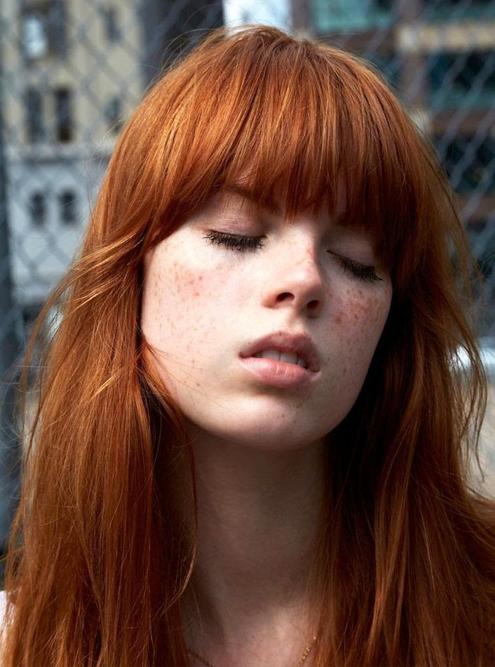 9 Inspiring Redheads Shaggy Bangs Red Hair Inspiration Freckles Beauty Via Russh Magazine photo 9-Inspiring-Redheads-Shaggy-Bangs-Red-Hair-Inspiration-Freckles-Beauty-Via-Russh-Magazine.jpg