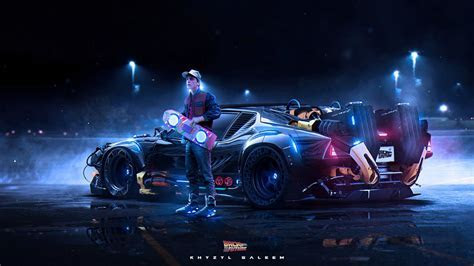 Back To The Future Redesign Scraps The DeLorean For Something Faster