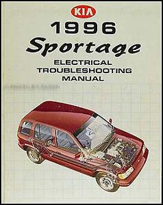 1996 Kia Sportage Electrical Troubleshooting Manual Wiring ...