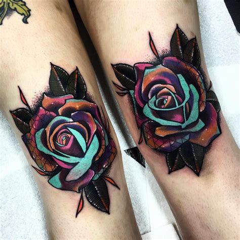 pair knees ive years flower leg
