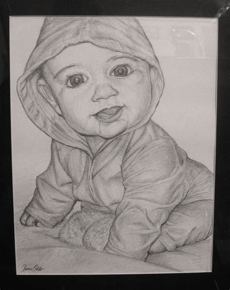high resolution pictures pencil drawings baby images
