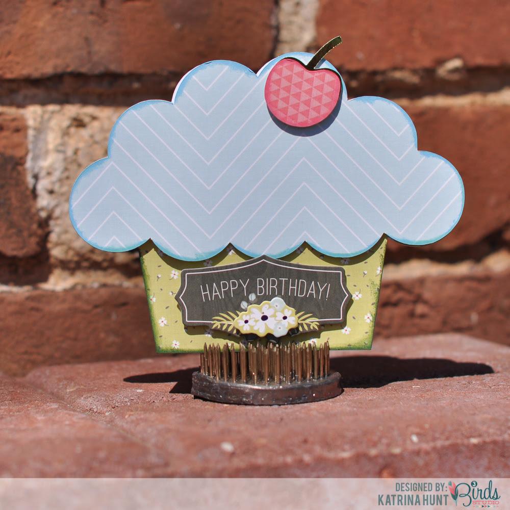 Let's Do Cupcakes with 3 Birds Design!