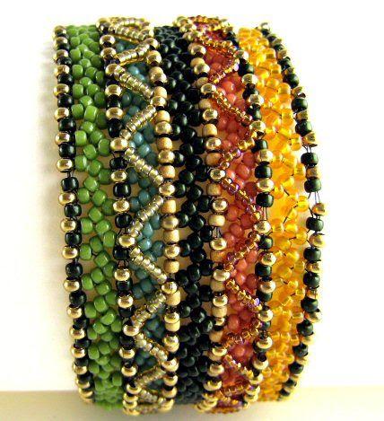 Junuary 1  #beadwork #bracelet