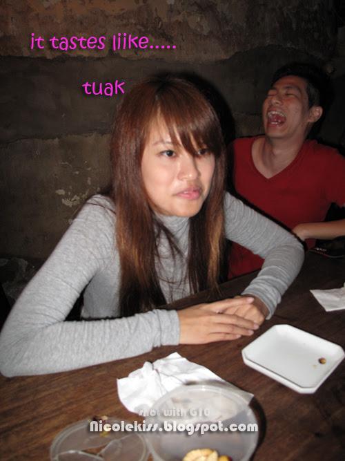 it tastes like tuak