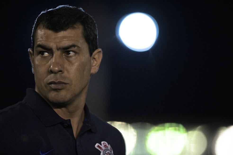 Fábio Carille é só elogios ao elenco do Corinthians (Foto: Jorge Rodrigues/Eleven/Estadão Conteúdo)