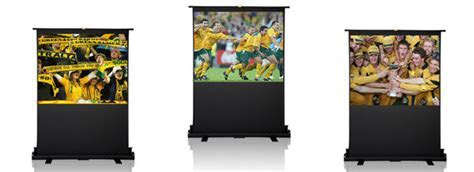 Pull Up Projection Screen Hire   Sydney Projector Hire