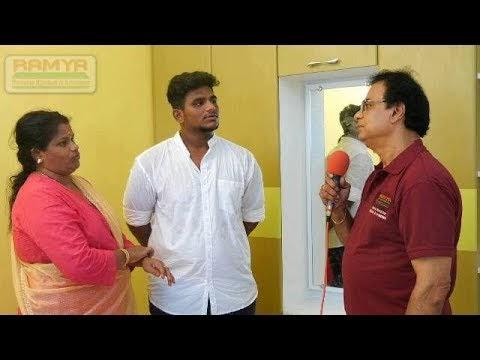 Ramya Modular Kitchen, Our Client  Mrs.  Gayathri  Nagarajan,  ECR  Chen...