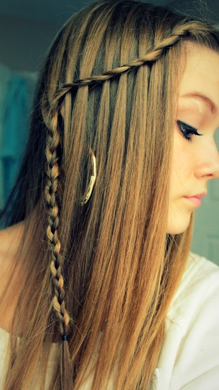 10 Best Waterfall Braids: Hairstyle Ideas for Long Hair - PoPular ...
