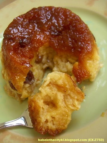 caramel bread pudding01