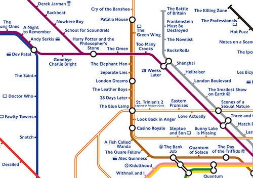 Detail of Underground Film Map