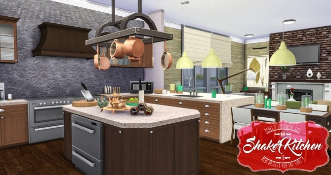 Shaker Kitchen *UPDATED at Simsational Designs » Sims 4 ...