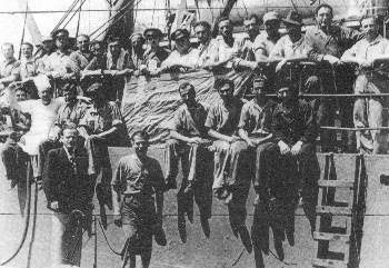 Απεργία ναυτεργατών στο πλοίο «Θεοφάνης Λιβανός» στην Αυστραλία υπό την καθοδήγηση της ΟΕΝΟ το 1945