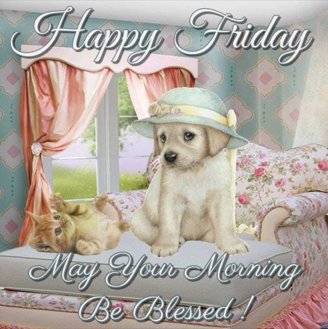 Happy Friday May Your Morning Be Blessed Cute Quote Pictures Photos