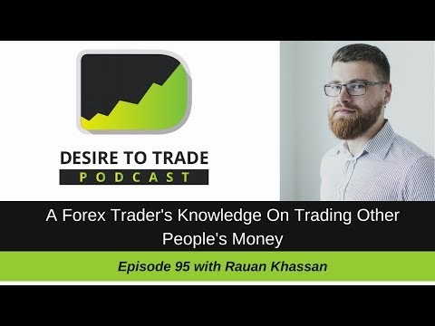 Trading forex with other peoples money