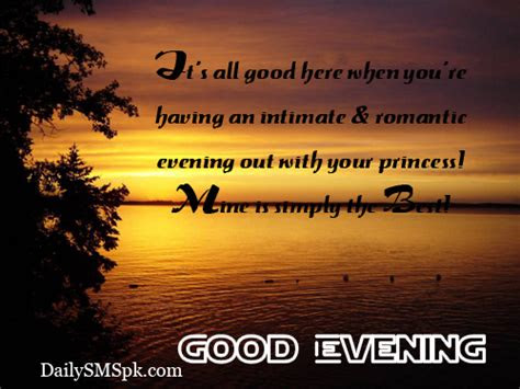 Gud Evening Pics With Quotes