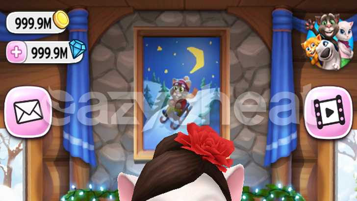 My Talking Angela v3 4 1 13 - Unlimited Coins, Diamonds and
