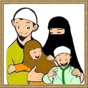 Terkeren 30 Gambar Kartun Keluarga Muslim 2 Anak - Gambar ...
