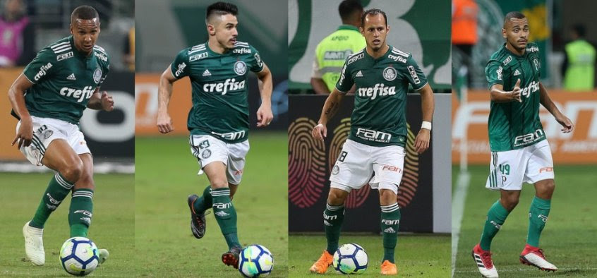 Deyverson, Willian, Guerra e Papagaio