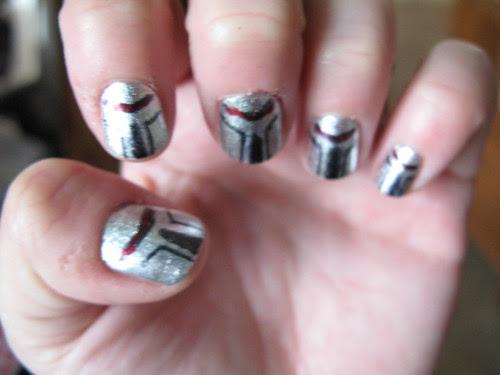 Cylon nails.