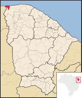 Localização de Barroquinha