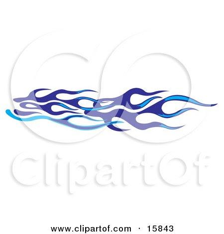 flames clip art. Light And Dark Blue Flames