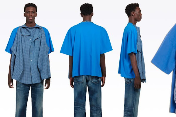 48346b5c186f Balenciaga has made a $1700 shirt on a T-shirt. And people are mad