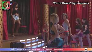Bruna Quintas sensual na novela Terra Brava