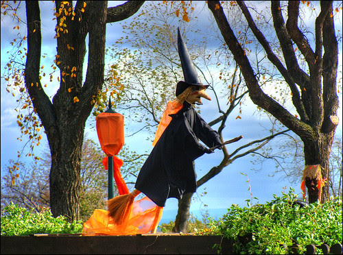 Witch-on-a-broom