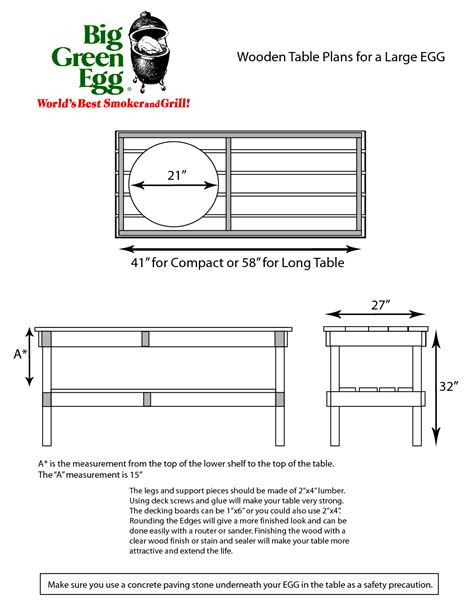 Table Plans Large Big Green Egg PDF twin bed bookcase