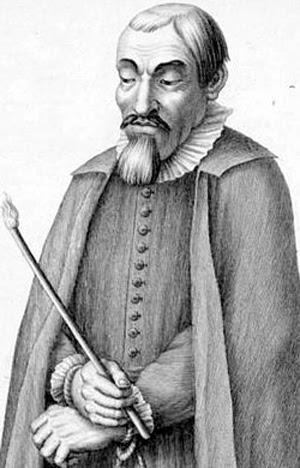 portrait of Miguel de Molinos
