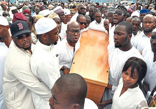 Arisekola Alao Funeral