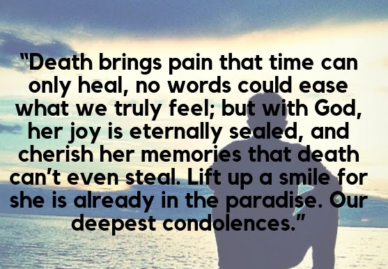 Inspirational Loss Quotes For Loved Ones Thesympathyquotescom