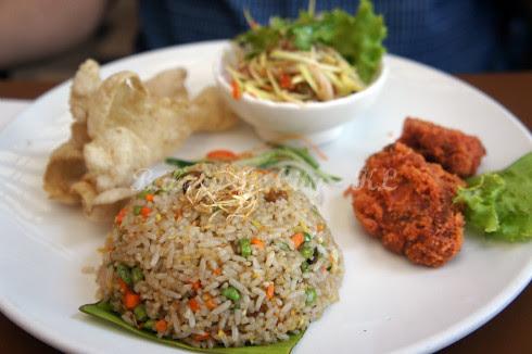 Belacan Fried Rice (RM14.90)