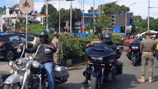 Rombongan Moge Tak Pakai Pelat Nomor Lolos Pemeriksaan Surat Rapid Antigen dan Dikawal Polisi Halaman all - Kompas.com