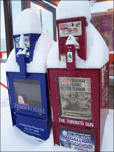 Toronto Newspapers, March 8, 2008