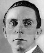 Goebbels: read more and compare to present day