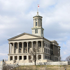 Tennessee State Capitol in Nashville, Tennessee