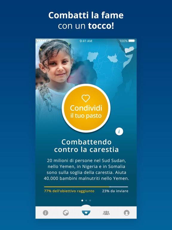 ShareTheMeal - INSIEME POSSIAMO SCONFIGGERE LA FAME!