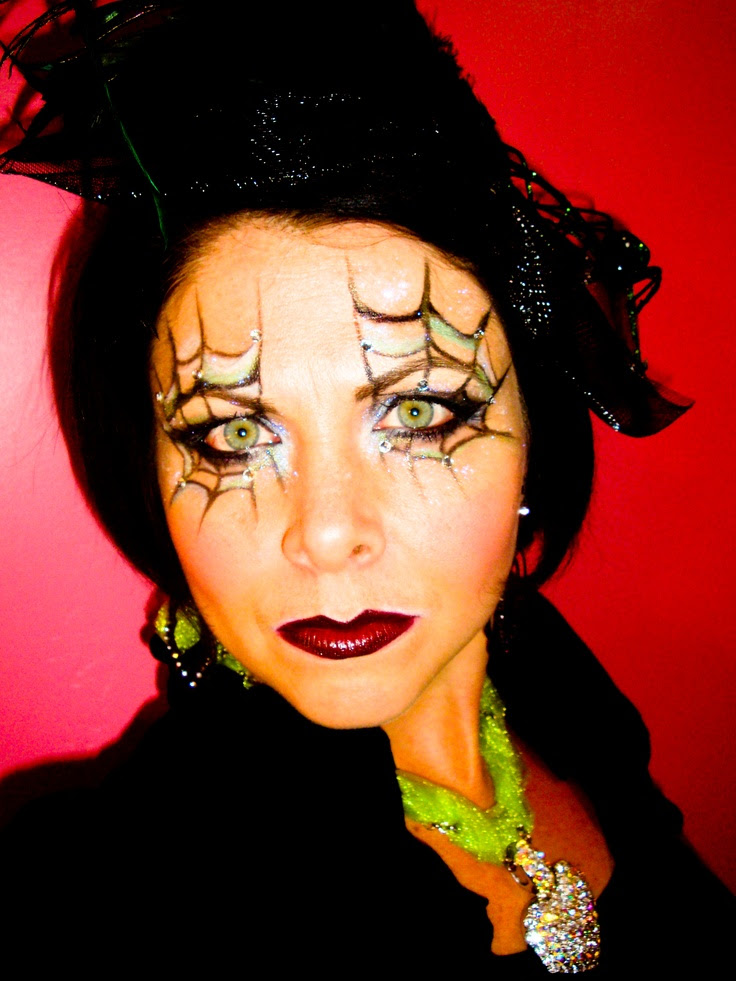 25 Outstanding Halloween Spider Makeup Ideas