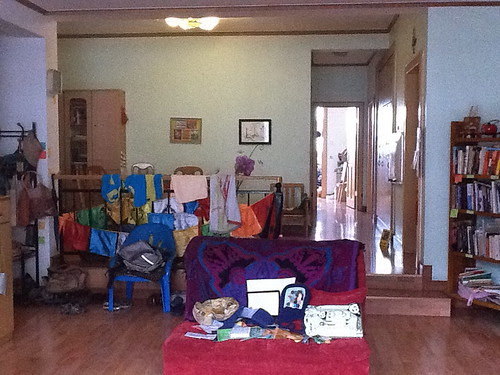Living room/ dining room, 2011